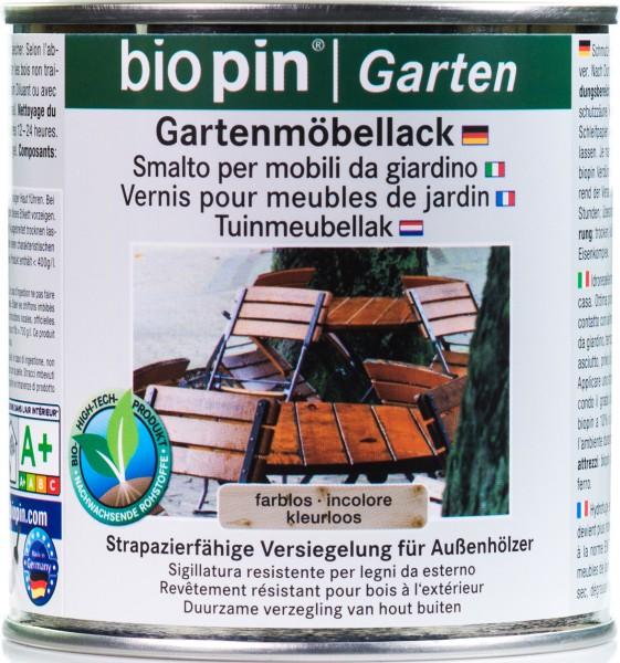 Gartenmöbellack Farblos