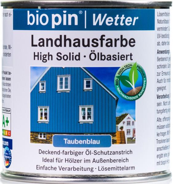Landhausfarbe Taubenblau