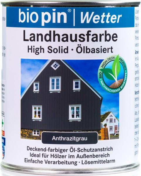 Landhausfarbe Anthrazitgrau