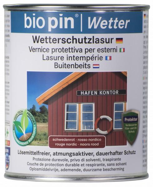 Wetterschutzlasur Schweden Rot