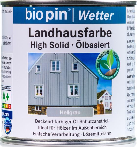 Landhausfarbe Hellgrau