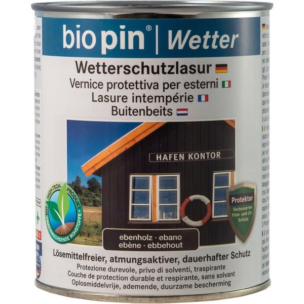 Wetterschutzlasur Ebenholz