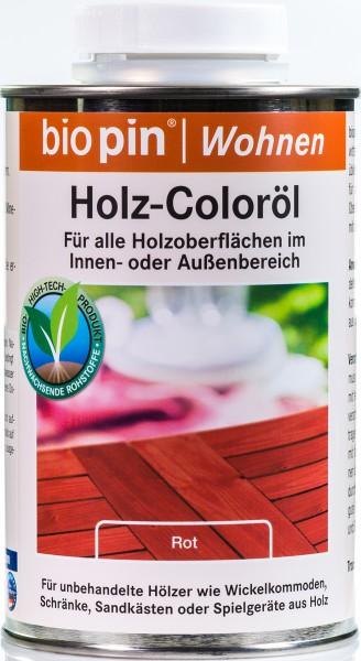 Holz-Coloröl Rot