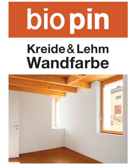 Kreide & Lehm Wandfarbe Weiß