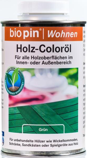 Holz-Coloröl Grün