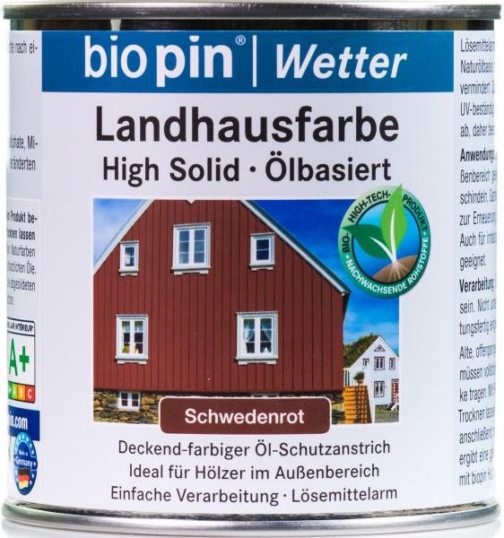 Landhausfarbe Schweden Rot