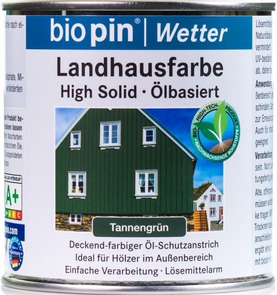 Landhausfarbe Tannen Grün
