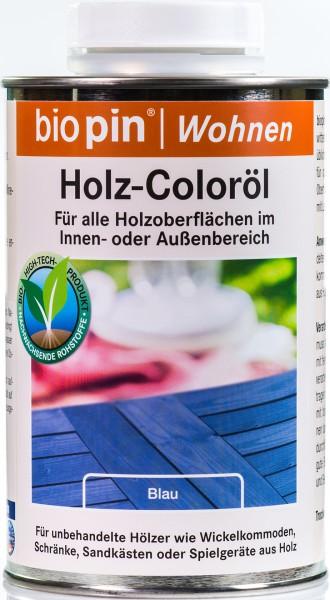 Holz-Coloröl Blau